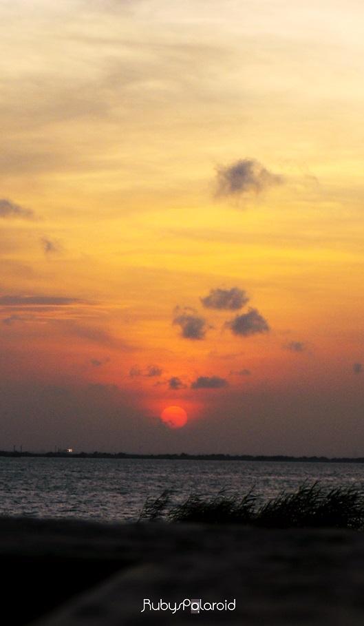 Lagos Sunset by rubys polaroid
