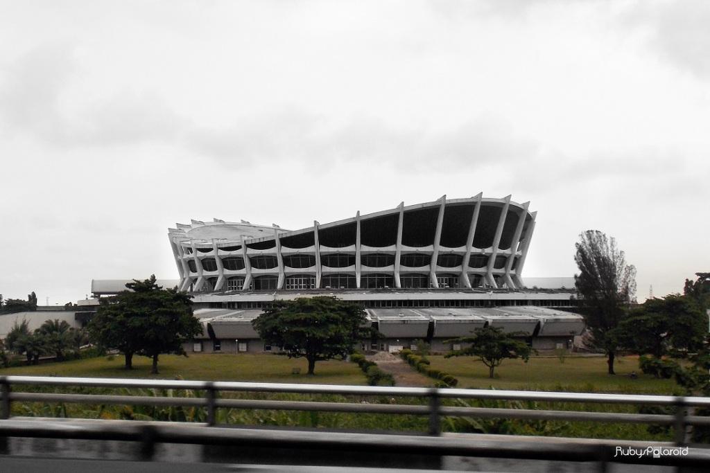 National Theatre Lagos by rubys polaroid